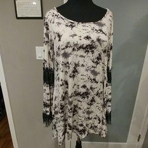 Romeo + Juliet couture Tie Dye Tunic Dress